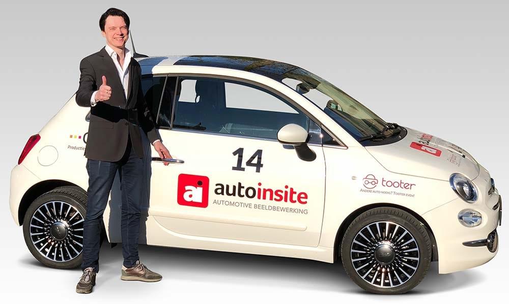 Chris Hof bij auto Auto-Insite