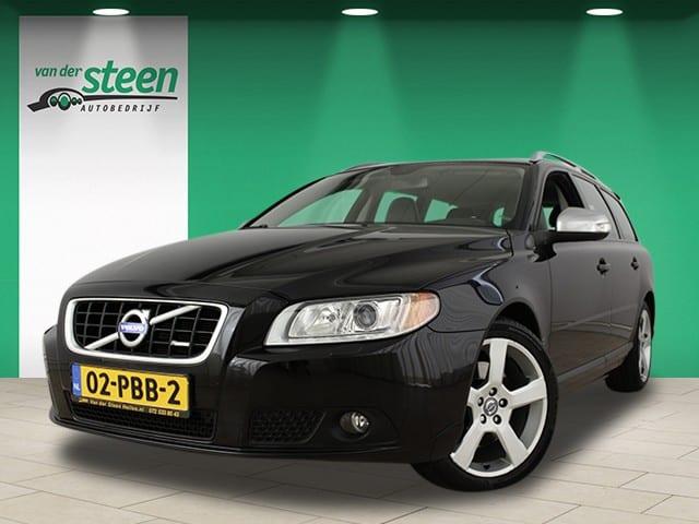 Van der Steen autobedrijf logo